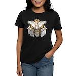 Native American Swan Mandala Women's Dark T-Shirt