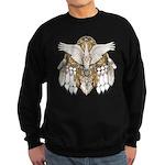 Native American Swan Mandala Sweatshirt (dark)