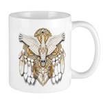Native American Swan Mandala Mug