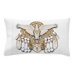 Native American Swan Mandala Pillow Case