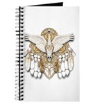 Native American Swan Mandala Journal