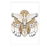 Native American Swan Mandala Postcards (Package of