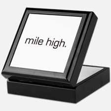 Mile High Keepsake Box
