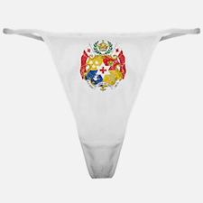 Tonga Coat Of Arms Classic Thong