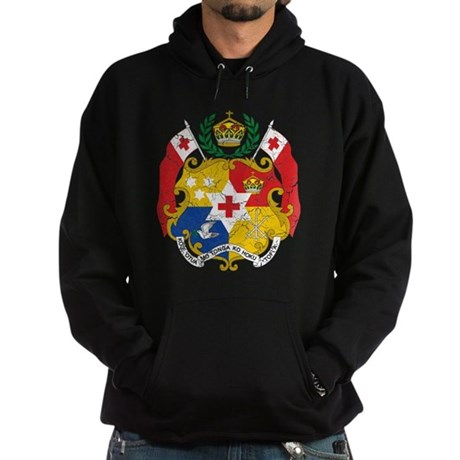 Tonga Coat Of Arms Hoodie (dark)