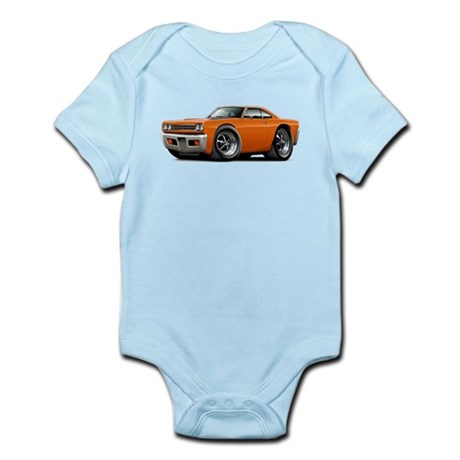 1969 Roadrunner Orange Car Body Suit