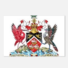 Trinidad and Tobago Coat Of Arms Postcards (Packag