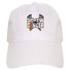 Screw Leukemia Cancer Baseball Cap