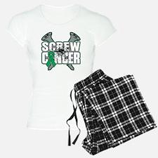 Screw Liver Cancer Pajamas