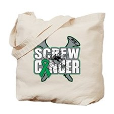 Screw Liver Cancer Tote Bag