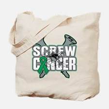 Screw Liver Cancer Tote Bag
