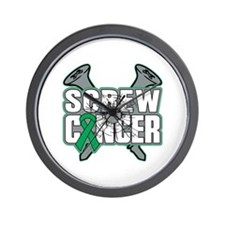 Screw Liver Cancer Wall Clock