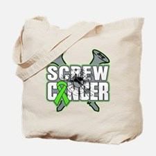 Screw Lymphoma Cancer Tote Bag