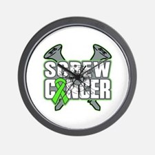 Screw Lymphoma Cancer Wall Clock