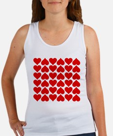 Red Heart of Love Tank Top