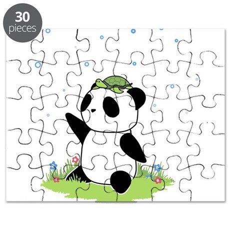 Turtle on a Panda Puzzle