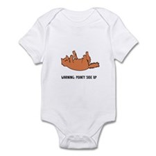 """Pointy Side Up"" Infant Bodysuit"
