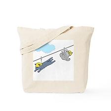 """Zip Liners"" Tote Bag"