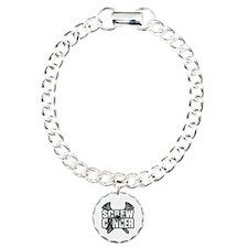 Screw Melanoma Cancer Bracelet
