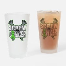 Screw Non-Hodgkins Cancer Drinking Glass