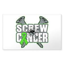 Screw Non-Hodgkins Cancer Decal