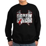 Screw Oral Cancer Sweatshirt (dark)