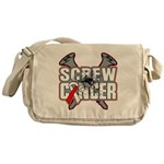 Screw Oral Cancer Messenger Bag