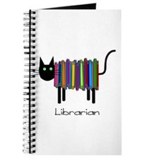 Librarian Book Cat.PNG Journal