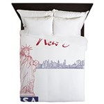 New York Queen Duvet