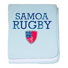 Samoa Rugby designs baby blanket