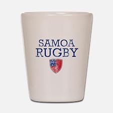 Samoa Rugby designs Shot Glass