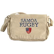 Samoa Rugby designs Messenger Bag