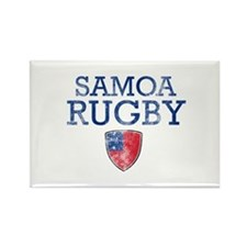 Samoa Rugby designs Rectangle Magnet