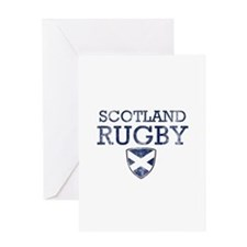 Scotland Rugby designs Greeting Card