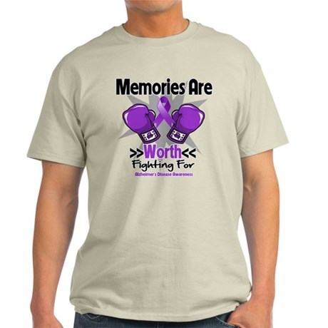 Alzheimers Memories Fight Light T-Shirt