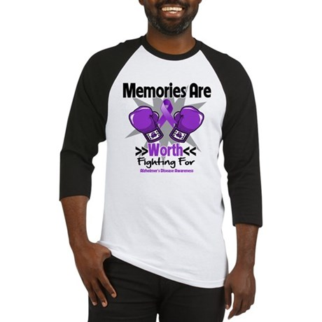 Alzheimers Memories Fight Baseball Jersey