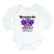 Alzheimers Memories Fight Long Sleeve Infant Bodys