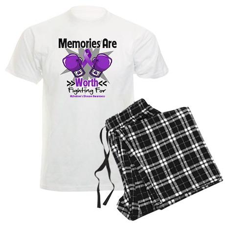 Alzheimers Memories Fight Men's Light Pajamas