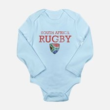 South Africa Rugby designs Long Sleeve Infant Body
