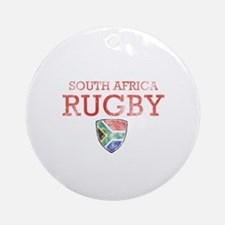 South Africa Rugby designs Ornament (Round)