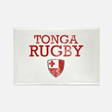 Tonga Rugby designs Rectangle Magnet