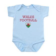 Wales Football designs Infant Bodysuit