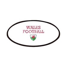 Wales Football designs Patches