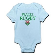 Wales Rugby designs Infant Bodysuit