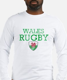 Wales Rugby designs Long Sleeve T-Shirt