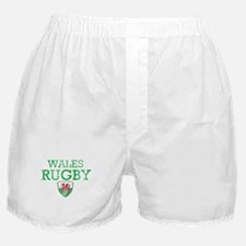 Wales Rugby designs Boxer Shorts