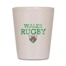 Wales Rugby designs Shot Glass