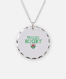 Wales Rugby designs Necklace