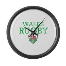 Wales Rugby designs Large Wall Clock