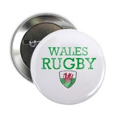 """Wales Rugby designs 2.25"""" Button"""